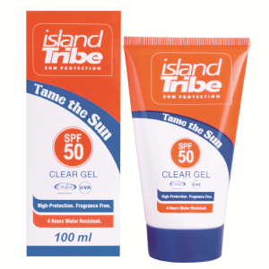 Island Tribe SPF 50 Clear Gel 100ml