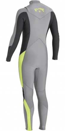 BILLABONG ABSOLUTE 5/4MM CHEST ZIP GBS WETSUIT