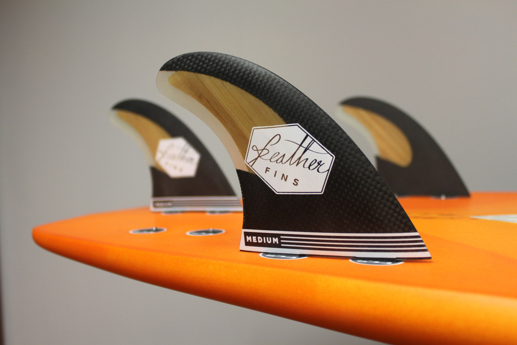 feather fins carbon  (fcs plug)
