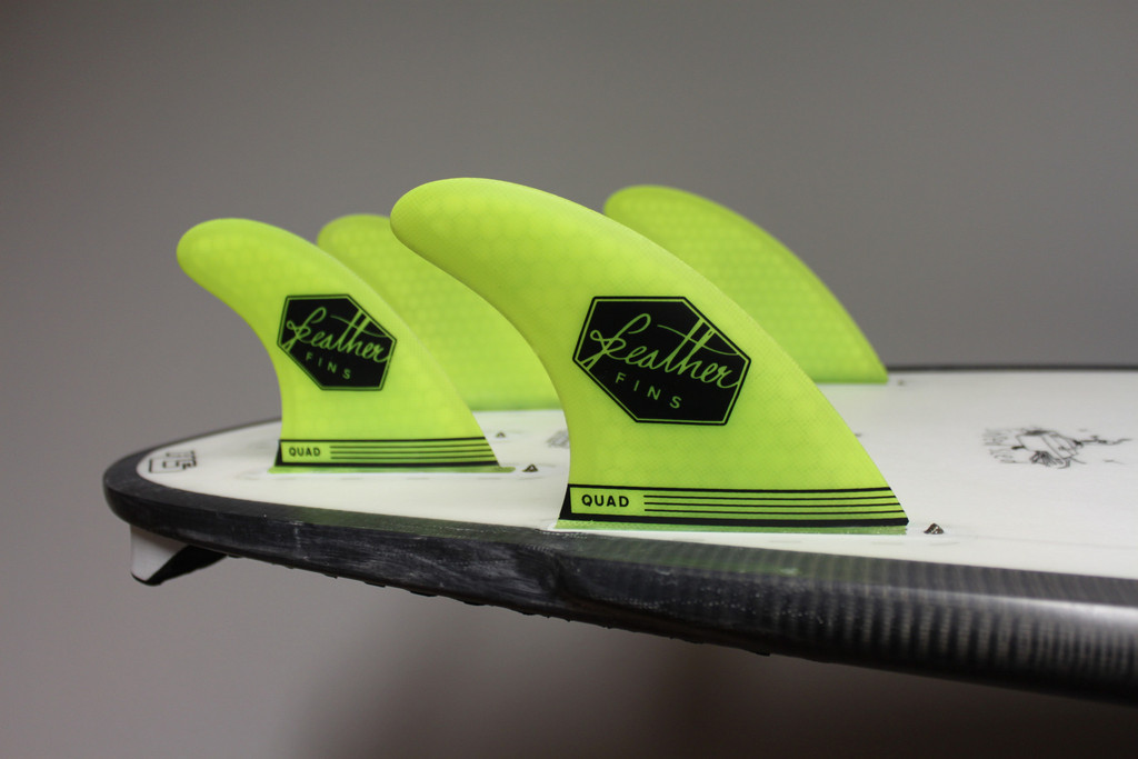 Feather Fins yellow (Futurebox) QUAD M